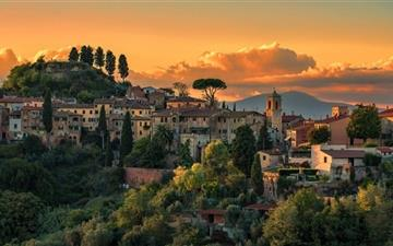 Tuscany Italy Villages Mac wallpaper