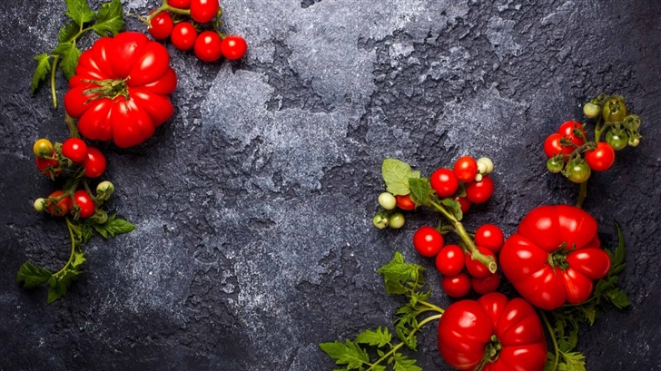 Fresh Red Tomatoes Mac Wallpaper