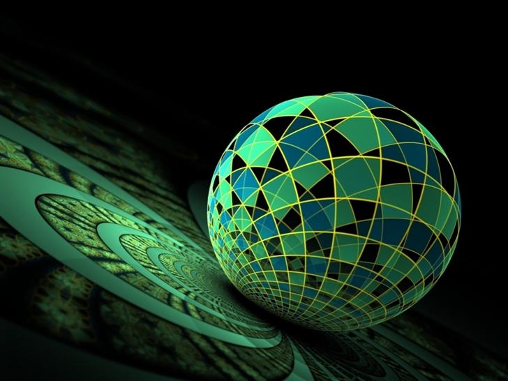 Sphere Poster Mac Wallpaper