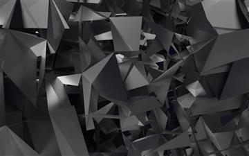 Geometic Shapes Art Mac wallpaper