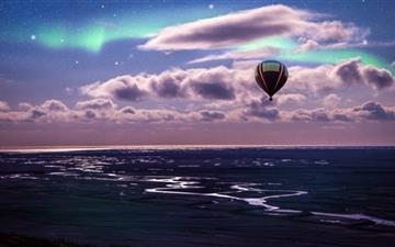Hot Air Balloon Ride Mac wallpaper