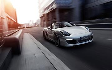 Porsche Boxter All Mac wallpaper