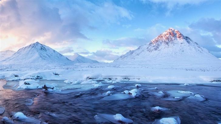 Beautiful Mountain Scenery Mac Wallpaper
