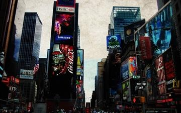 Times Square All Mac wallpaper