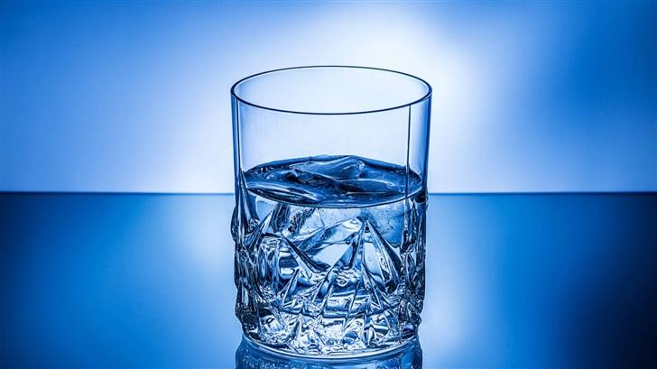 Glass Of Ice Water Mac Wallpaper