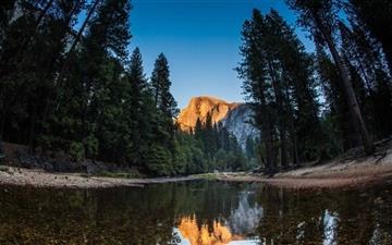 Half Dome Yosemite National Park Mac wallpaper