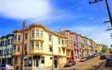Street In San Francisco Mac wallpaper
