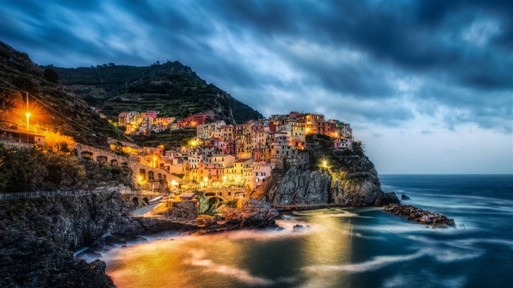 Manarola Cinque Terre Italy Mac Wallpaper Download