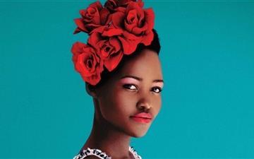 Lupita Nyongo Portrait Mac wallpaper