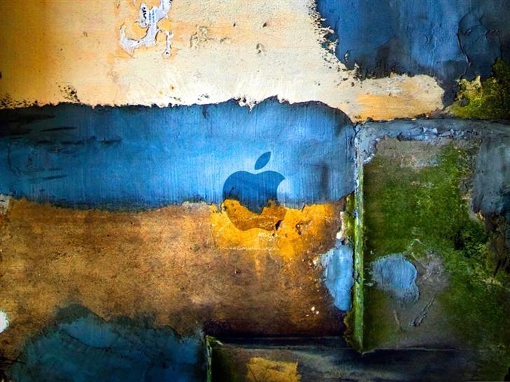 Apple Graffiti Mac Wallpaper