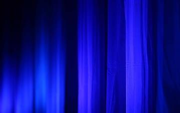 Blue Curtains Mac wallpaper