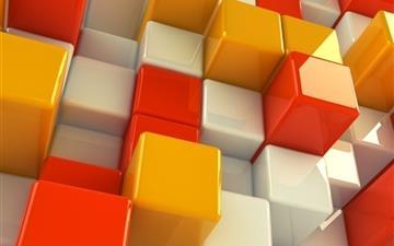 3D cubs Mac wallpaper