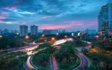 Jakarta Indonesia Mac wallpaper