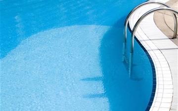Pool Water Blue Mac wallpaper