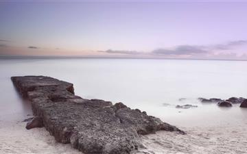 Dawn By The Sea Mac wallpaper