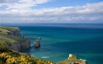Beautiful sea landscape Mac wallpaper
