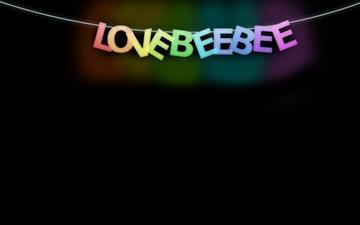 Love bee bee Mac wallpaper