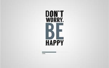 Don't worry be happy All Mac wallpaper