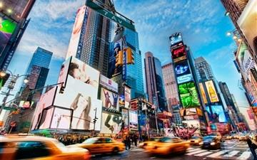 Times Square New York Mac wallpaper