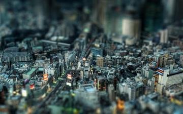 Miniature City 2 Mac wallpaper
