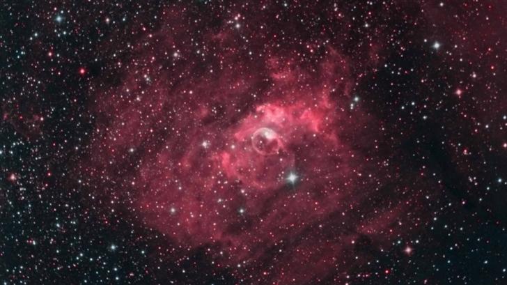 Bubble Nebula Mac Wallpaper