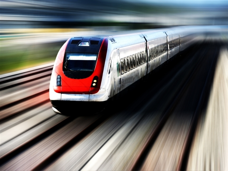 High Speed Train Mac Wallpaper