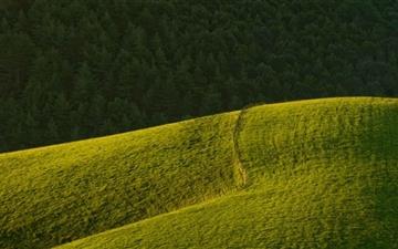 Rolling Green Hills Mac wallpaper