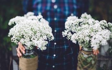 Vintage Wedding Flowers Mac wallpaper