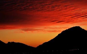 Amazing Sunset Sky Mac wallpaper