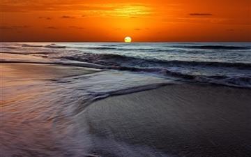 Memorable Sunset Beach Mac wallpaper