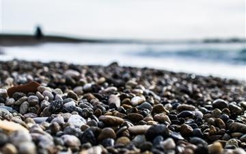 Pebbles On The Beach All Mac wallpaper
