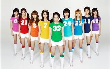 Girls Generation 14 All Mac wallpaper