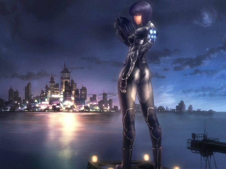 Ghost in the shell Mac Wallpaper