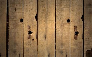 Apple logo on wood Mac wallpaper