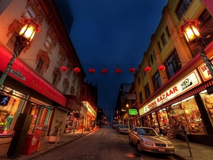 China town Mac Wallpaper