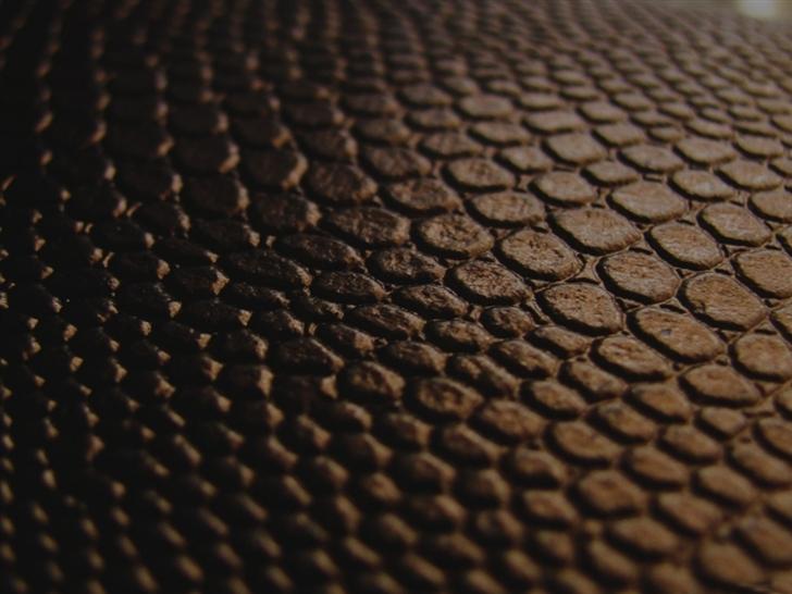 Brown leather Mac Wallpaper