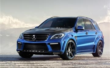 Mercedes Benz Ml 63 Amg Inferno Mac wallpaper