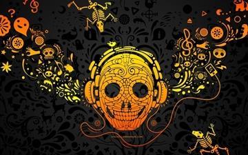 Crazy Music Mac wallpaper
