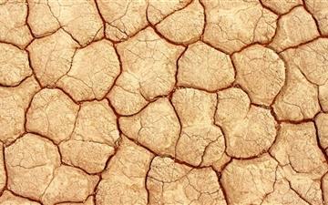 Cracked Earth Mac wallpaper