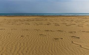 Beach Sea Italy Mac wallpaper