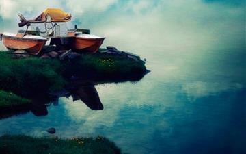 Flying Boat Mac wallpaper