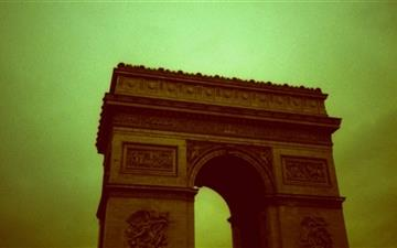 The Arc De Triomph De Letoile Mac wallpaper