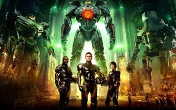 Pacific Rim Characters Mac wallpaper