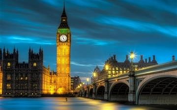 Amazing Palace of Westminster Mac wallpaper