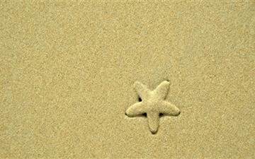The Starfish Mac wallpaper