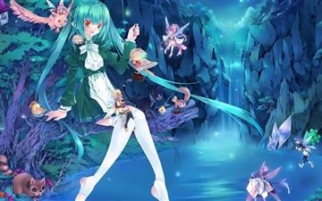 Anime Fairies Mac wallpaper
