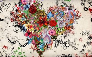 Tattoo Heart All Mac wallpaper