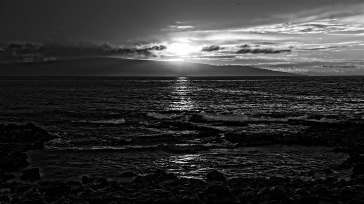 Sunset In Maui Mac Wallpaper