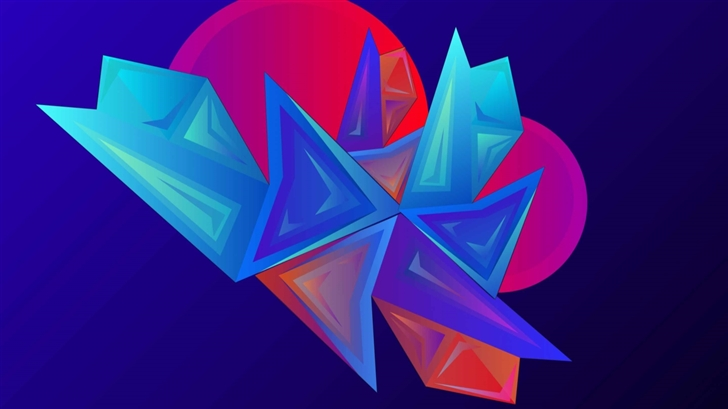 The Facets Mac Wallpaper