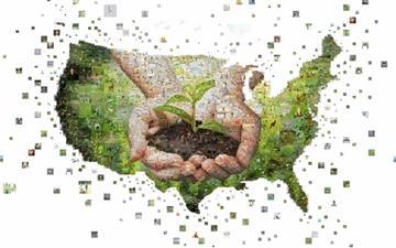 Green United States Mac wallpaper